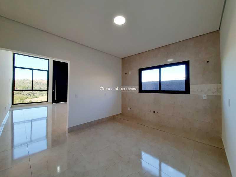 Cozinha  - Casa em Condomínio 3 quartos à venda Itatiba,SP - R$ 890.000 - FCCN30514 - 10