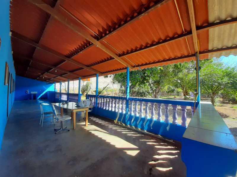 Varanda - Chácara 1171m² à venda Itatiba,SP - R$ 350.000 - FCCH20067 - 5