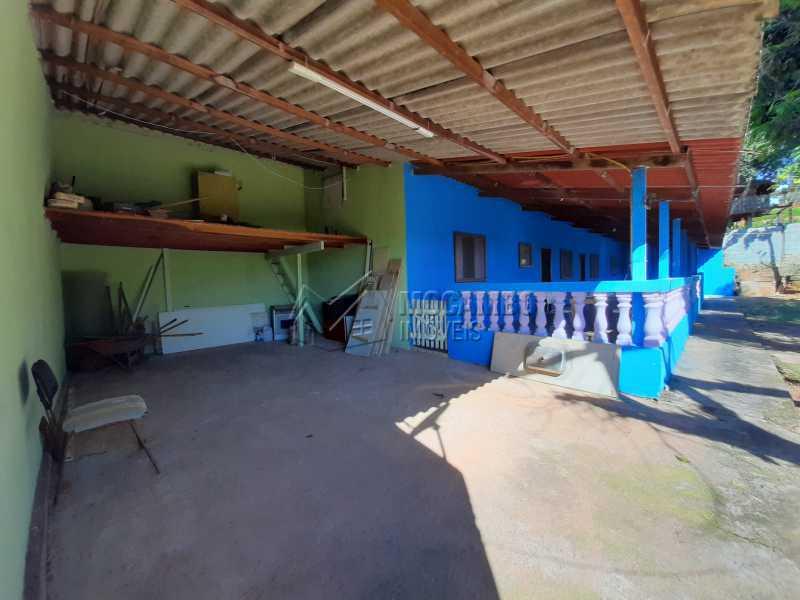 Garagem - Chácara 1171m² à venda Itatiba,SP - R$ 350.000 - FCCH20067 - 4