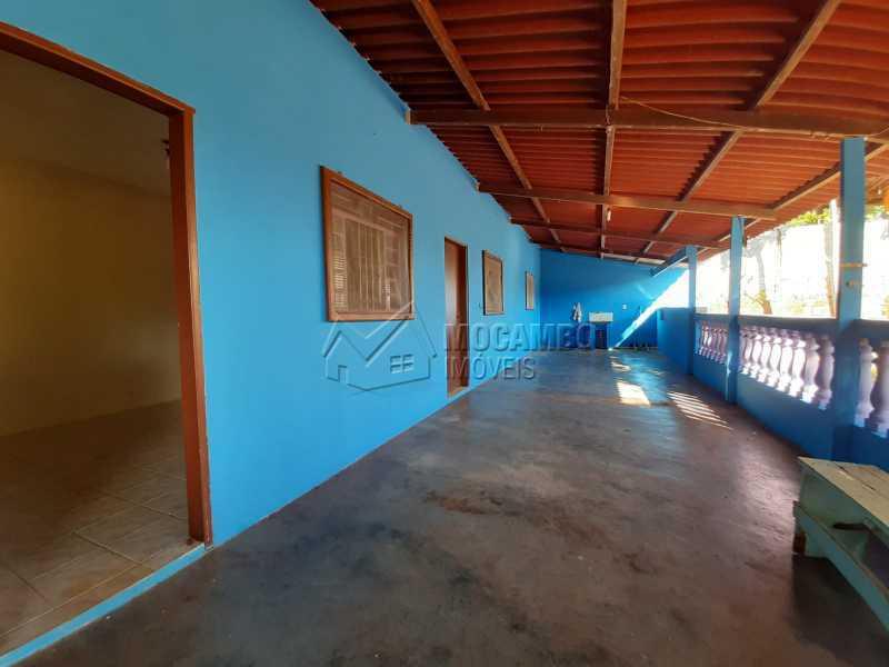 Varanda - Chácara 1171m² à venda Itatiba,SP - R$ 350.000 - FCCH20067 - 7