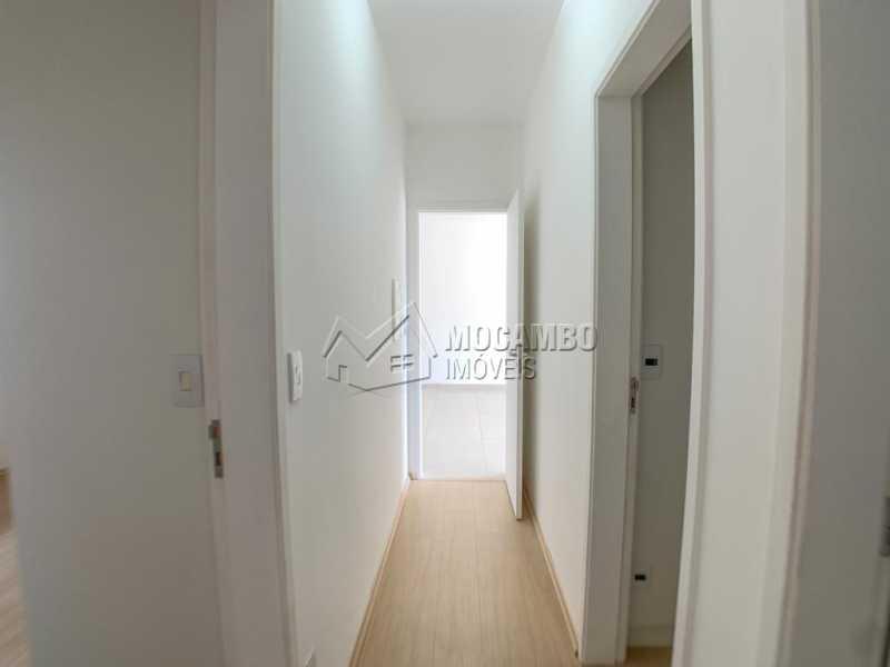 Acesso aos dormitórios - Apartamento 3 quartos à venda Itatiba,SP - R$ 630.000 - FCAP30595 - 10