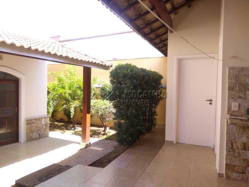 Área Externa de Fundos - Casa em Condomínio 3 quartos à venda Itatiba,SP - R$ 730.000 - FCCN30518 - 26