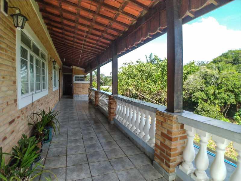 Varanda - Chácara 2000m² à venda Itatiba,SP - R$ 690.000 - FCCH30119 - 6