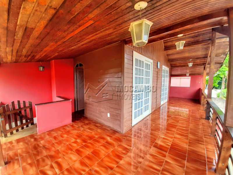 Varanda  - Chácara 1000m² à venda Itatiba,SP - R$ 490.000 - FCCH30120 - 3