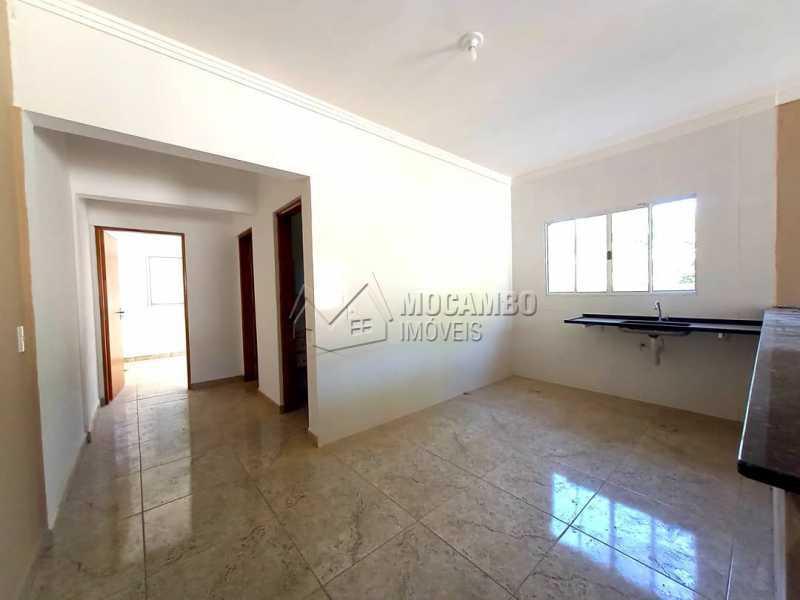 Cozinha - Casa 2 quartos à venda Itatiba,SP - R$ 300.000 - FCCA21442 - 6