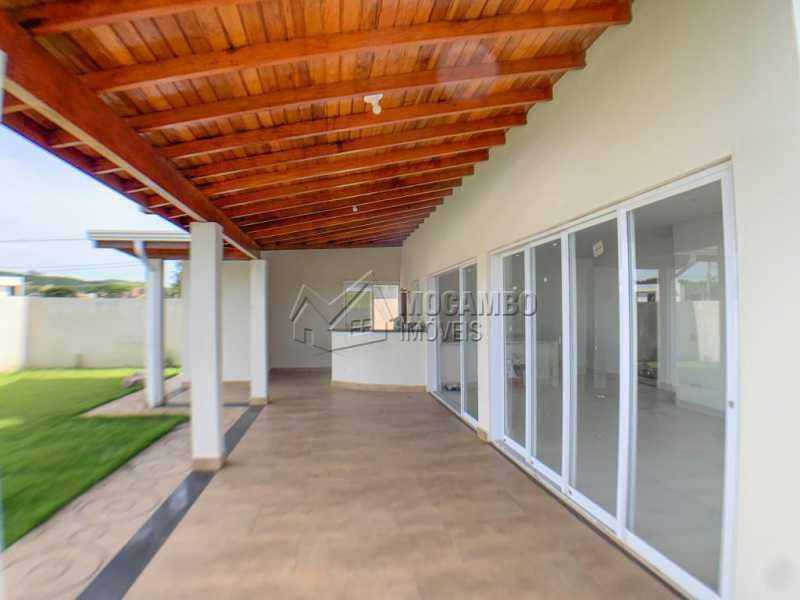 Varanda - Casa em Condomínio 3 quartos à venda Itatiba,SP - R$ 740.000 - FCCN30520 - 1