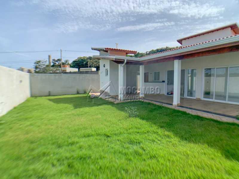 Área externa - Casa em Condomínio 3 quartos à venda Itatiba,SP - R$ 740.000 - FCCN30520 - 12