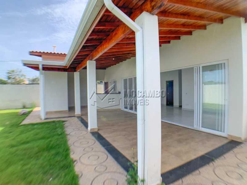 Área Externa - Casa em Condomínio 3 quartos à venda Itatiba,SP - R$ 740.000 - FCCN30520 - 15