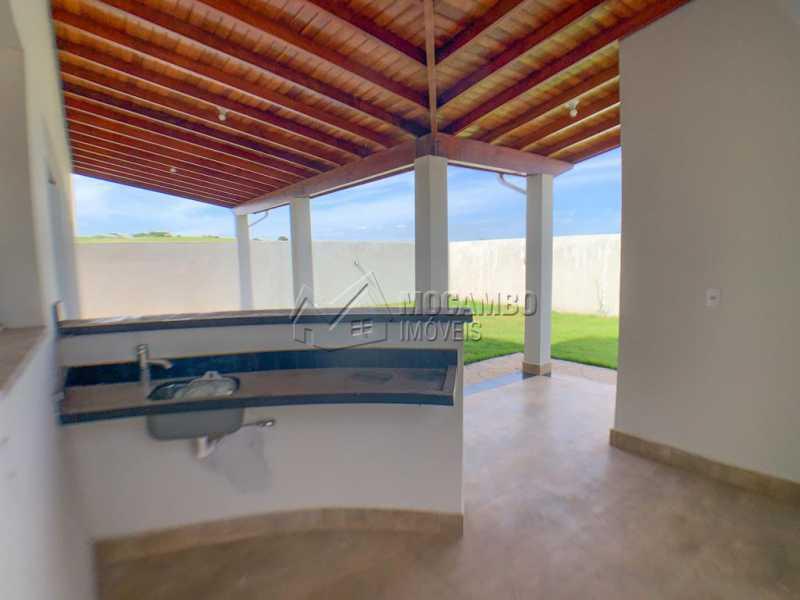 Varanda - Casa em Condomínio 3 quartos à venda Itatiba,SP - R$ 740.000 - FCCN30520 - 20