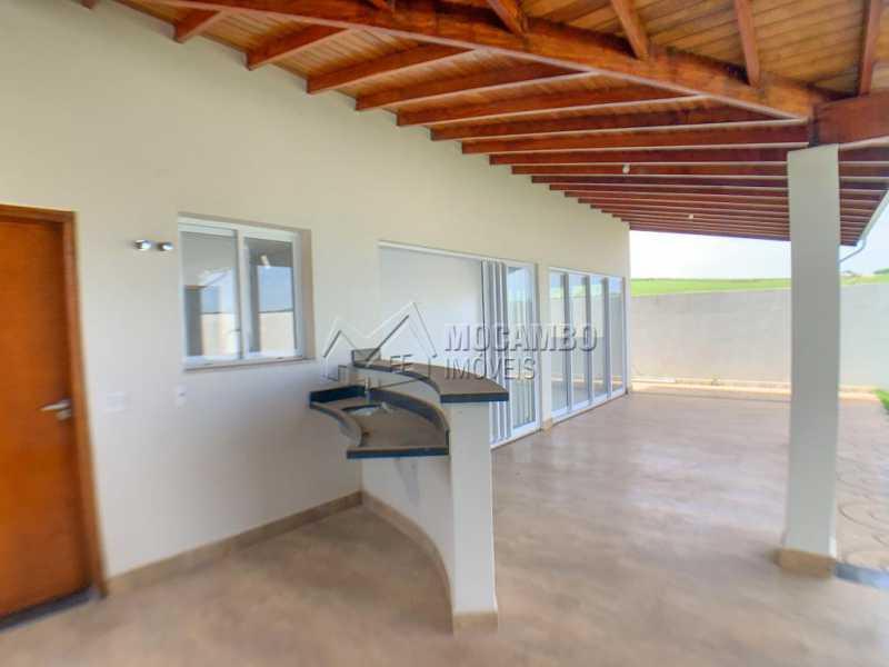 Varanda - Casa em Condomínio 3 quartos à venda Itatiba,SP - R$ 740.000 - FCCN30520 - 30