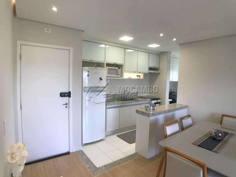 Cozinha - Apartamento 2 quartos à venda Itatiba,SP - R$ 275.000 - FCAP21203 - 5