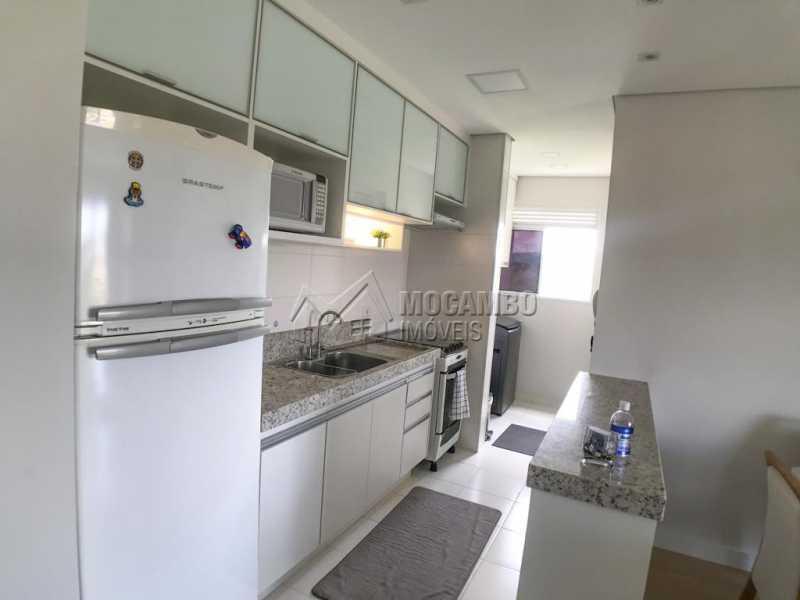Cozinha - Apartamento 2 quartos à venda Itatiba,SP - R$ 275.000 - FCAP21203 - 6