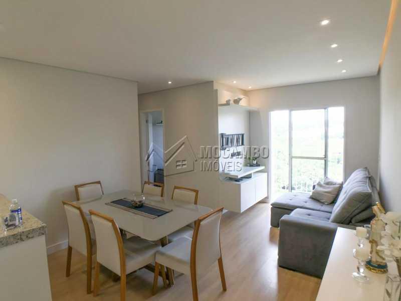 Sala - Apartamento 2 quartos à venda Itatiba,SP - R$ 275.000 - FCAP21203 - 1