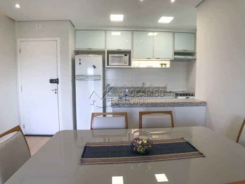 Cozinha - Apartamento 2 quartos à venda Itatiba,SP - R$ 275.000 - FCAP21203 - 4