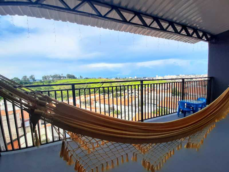 Varanda  - Casa 2 quartos à venda Itatiba,SP - R$ 360.000 - FCCA21445 - 11