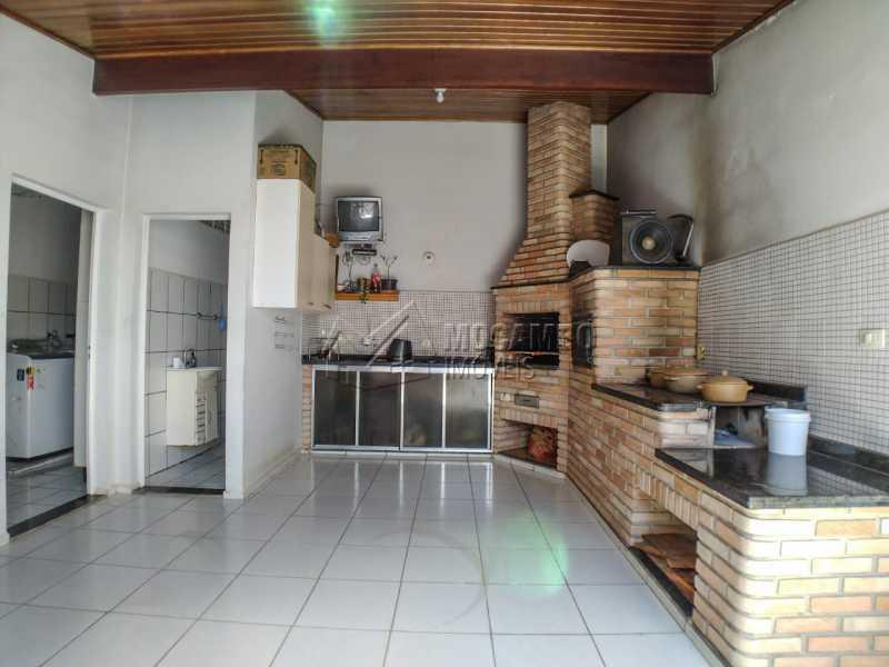 Churrasqueira - Casa 3 quartos à venda Itatiba,SP - R$ 380.000 - FCCA31436 - 1