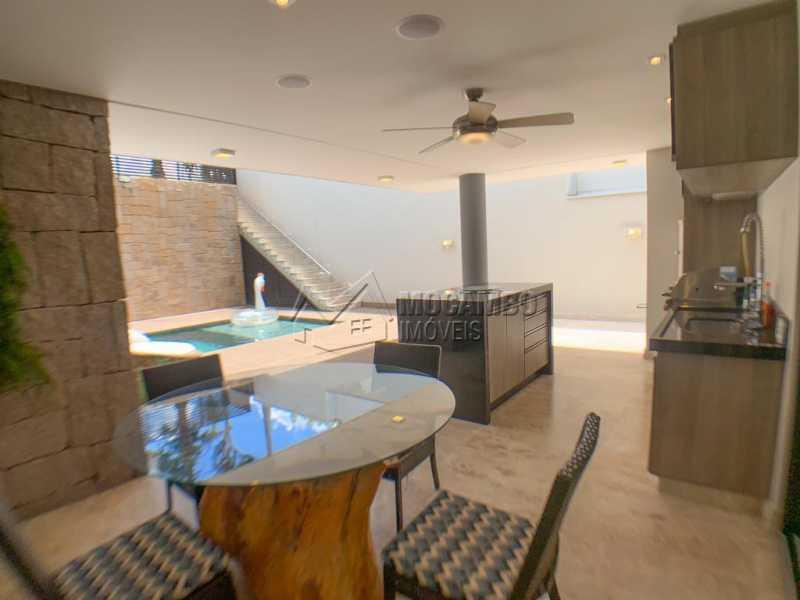 Espaço Gourmet - Casa em Condomínio 3 quartos à venda Itatiba,SP - R$ 1.890.000 - FCCN30522 - 23