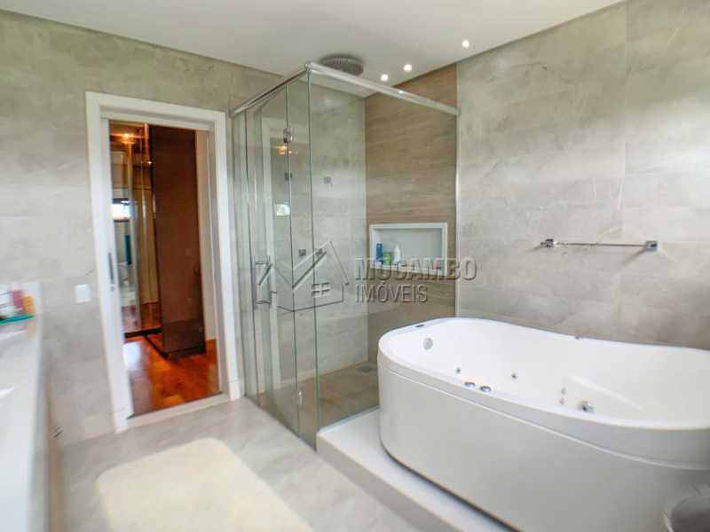 Banheiro da Suite - Casa em Condomínio 3 quartos à venda Itatiba,SP - R$ 1.890.000 - FCCN30522 - 15