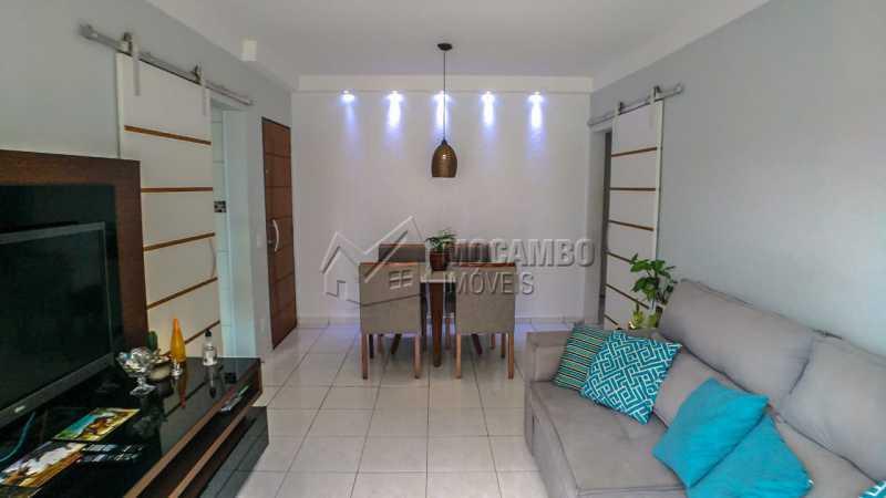 Sala de Jantar/ Estar - Apartamento 3 quartos à venda Itatiba,SP - R$ 255.000 - FCAP30602 - 1