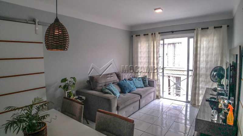 Sala de Jantar/ Estar - Apartamento 3 quartos à venda Itatiba,SP - R$ 255.000 - FCAP30602 - 4