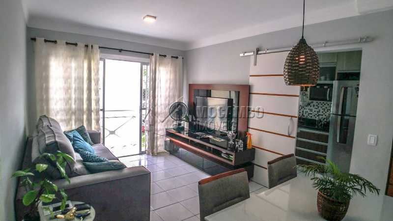 Sala de Jantar/ Estar - Apartamento 3 quartos à venda Itatiba,SP - R$ 255.000 - FCAP30602 - 3