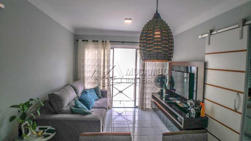 Sala de Jantar/ Estar - Apartamento 3 quartos à venda Itatiba,SP - R$ 255.000 - FCAP30602 - 6