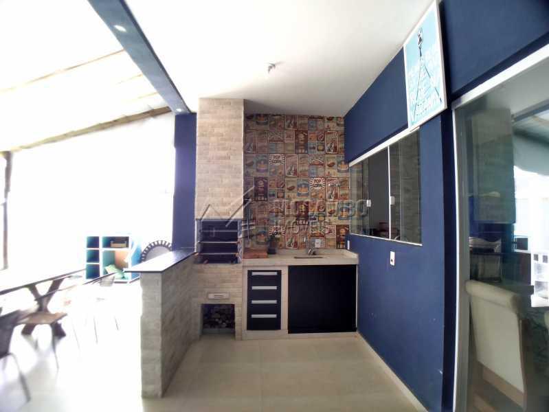 área gourmet - Casa em Condomínio 3 quartos à venda Itatiba,SP - R$ 600.000 - FCCN30525 - 15