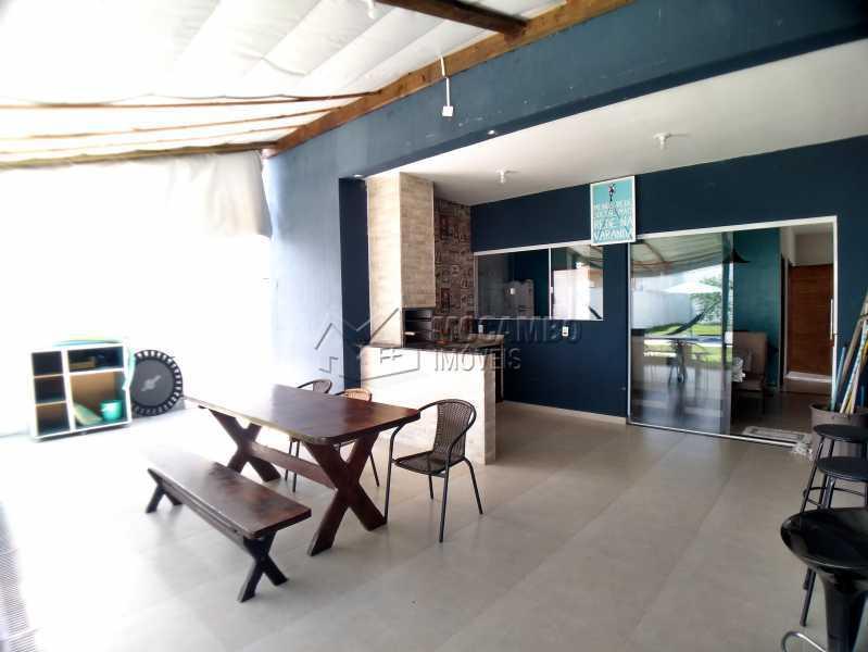 Espaço amplo da área gourmet - Casa em Condomínio 3 quartos à venda Itatiba,SP - R$ 600.000 - FCCN30525 - 16