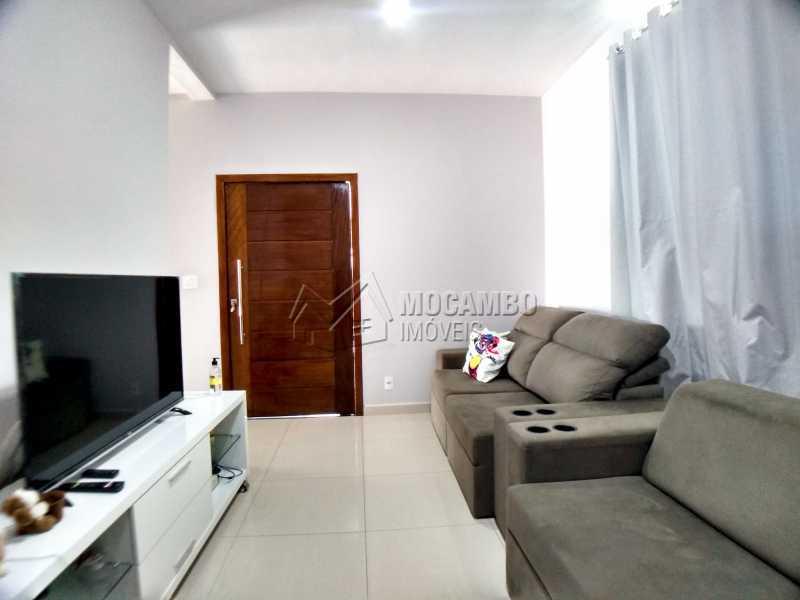 sala de estar - Casa em Condomínio 3 quartos à venda Itatiba,SP - R$ 600.000 - FCCN30525 - 6