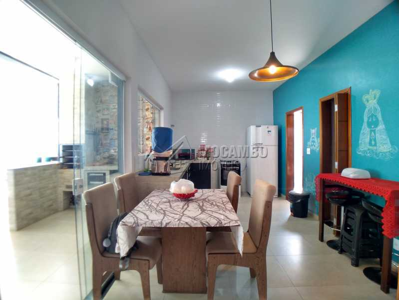 Cozinha - Casa em Condomínio 3 quartos à venda Itatiba,SP - R$ 600.000 - FCCN30525 - 7