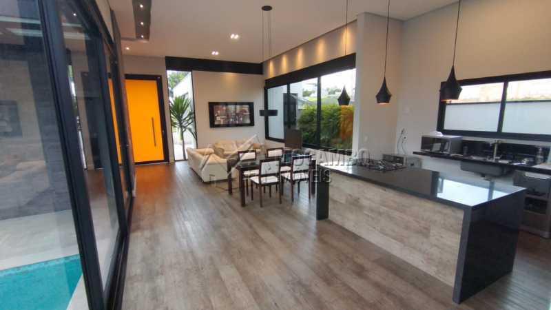 Sala 2 Ambientes - Casa em Condomínio 3 quartos à venda Itatiba,SP - R$ 1.490.000 - FCCN30526 - 3
