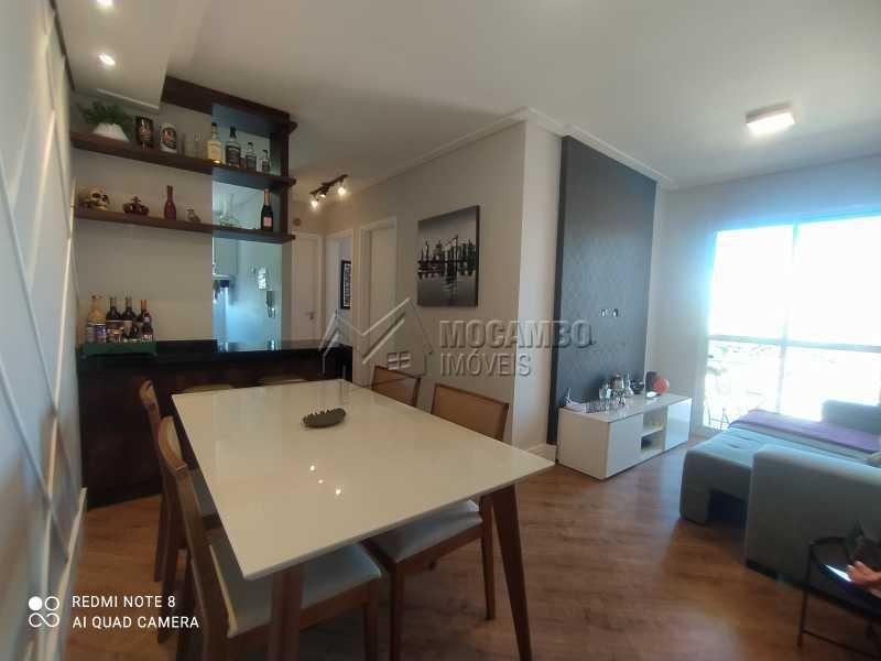 Sala - Apartamento 2 quartos à venda Itatiba,SP - R$ 250.000 - FCAP21217 - 1