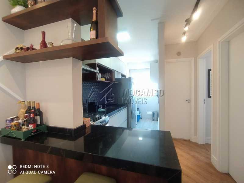 Cozinha - Apartamento 2 quartos à venda Itatiba,SP - R$ 250.000 - FCAP21217 - 6