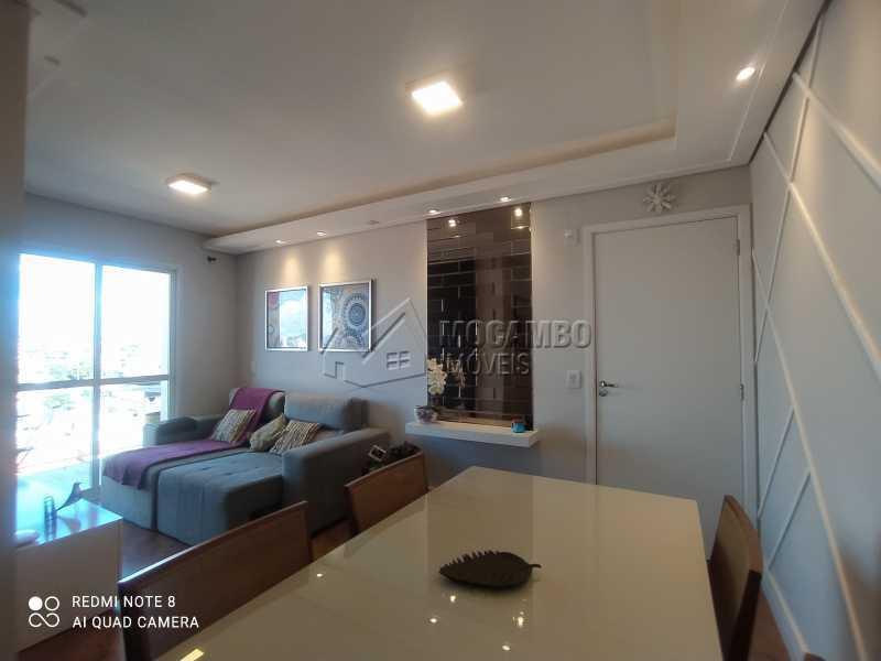 Sala - Apartamento 2 quartos à venda Itatiba,SP - R$ 250.000 - FCAP21217 - 4
