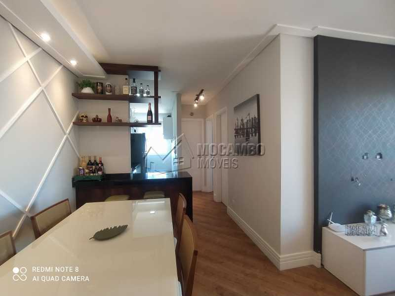 Sala - Apartamento 2 quartos à venda Itatiba,SP - R$ 250.000 - FCAP21217 - 3
