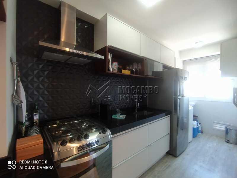 Cozinha - Apartamento 2 quartos à venda Itatiba,SP - R$ 250.000 - FCAP21217 - 9