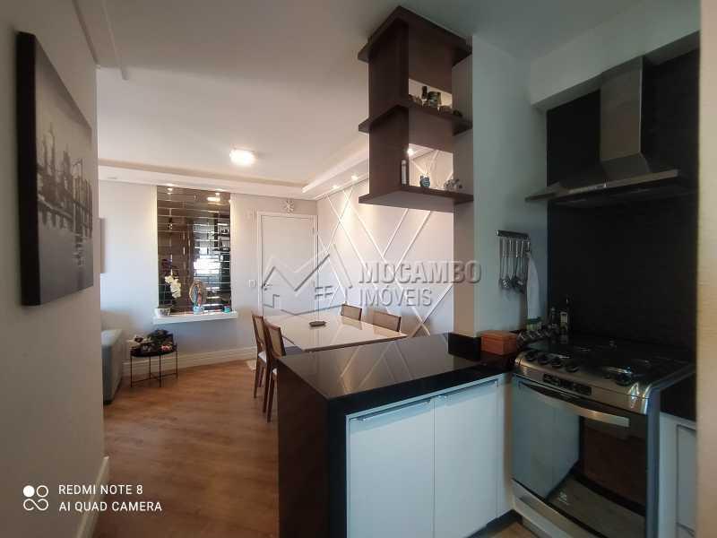 Cozinha/Sala - Apartamento 2 quartos à venda Itatiba,SP - R$ 250.000 - FCAP21217 - 10