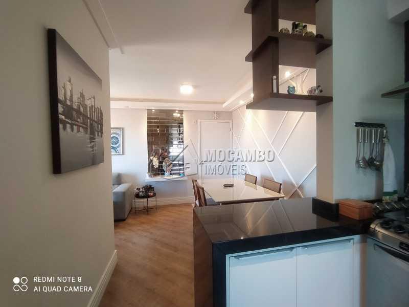 Cozinha/Sala - Apartamento 2 quartos à venda Itatiba,SP - R$ 250.000 - FCAP21217 - 11