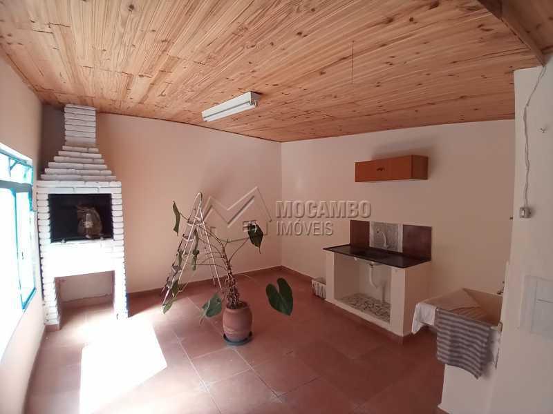 Área da Churrasqueira/Serviço - Casa 3 quartos para alugar Itatiba,SP - R$ 1.100 - FCCA31439 - 16