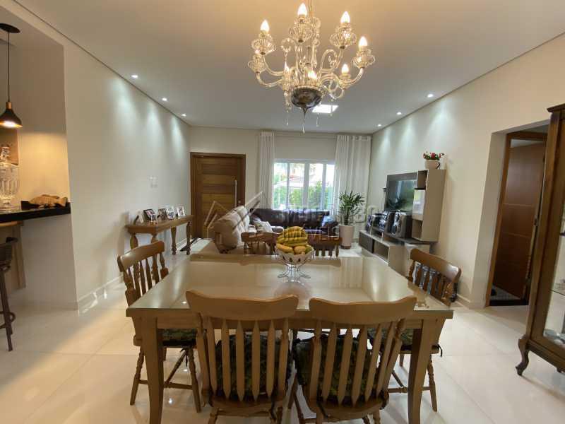 Sala de jantar - Casa em Condomínio 3 quartos à venda Itatiba,SP - R$ 901.000 - FCCN30529 - 6