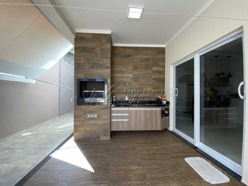 Área gourmet - Casa em Condomínio 3 quartos à venda Itatiba,SP - R$ 901.000 - FCCN30529 - 23