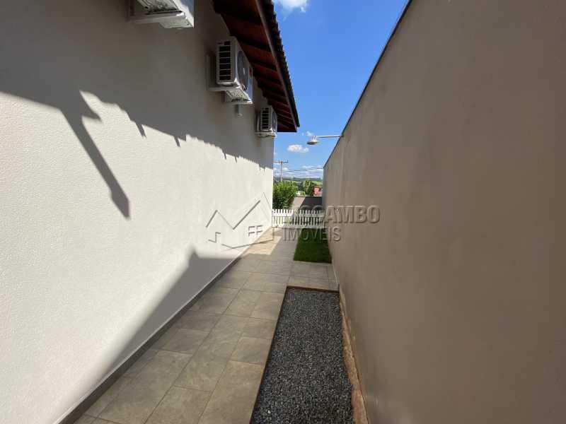 Lateral - Casa em Condomínio 3 quartos à venda Itatiba,SP - R$ 901.000 - FCCN30529 - 25