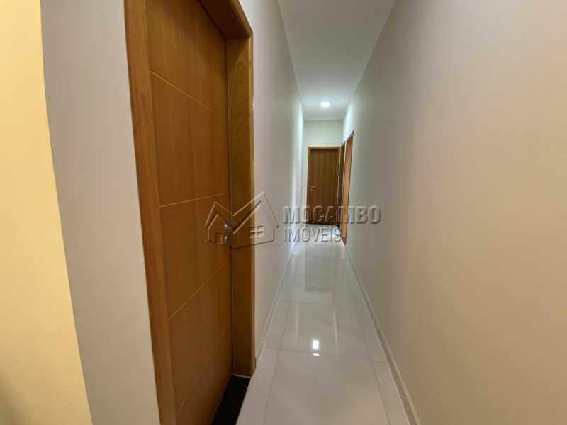 Corredor - Casa em Condomínio 3 quartos à venda Itatiba,SP - R$ 901.000 - FCCN30529 - 9
