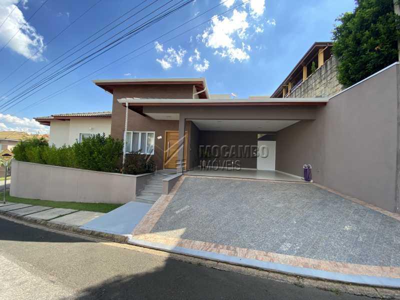 Fachada - Casa em Condomínio 3 quartos à venda Itatiba,SP - R$ 901.000 - FCCN30529 - 3