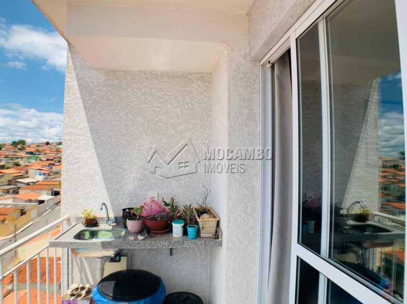 Varanda - Apartamento 2 quartos à venda Itatiba,SP - R$ 265.000 - FCAP21229 - 8