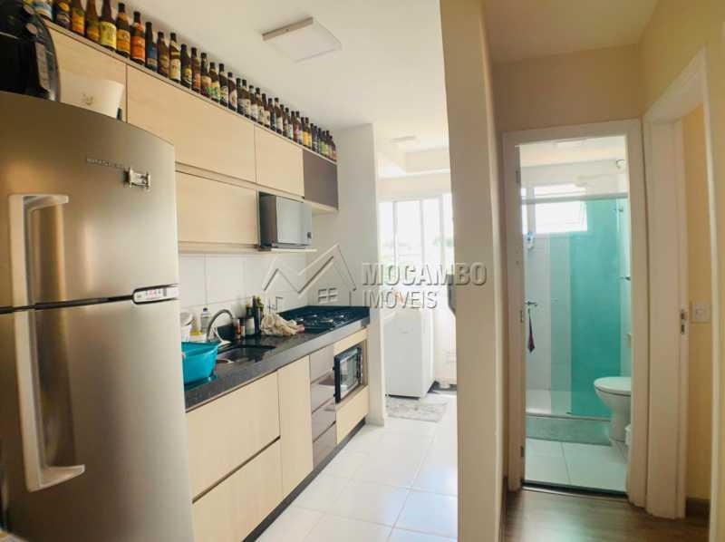 Cozinha - Apartamento 2 quartos à venda Itatiba,SP - R$ 265.000 - FCAP21229 - 4