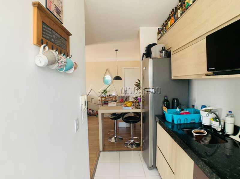 Cozinha - Apartamento 2 quartos à venda Itatiba,SP - R$ 265.000 - FCAP21229 - 5