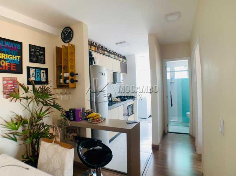 Sala / Cozinha - Apartamento 2 quartos à venda Itatiba,SP - R$ 265.000 - FCAP21229 - 6