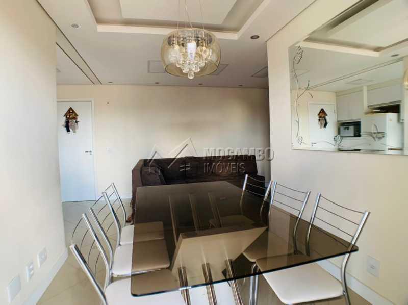 Sala de Jantar - Apartamento 2 quartos à venda Itatiba,SP - R$ 275.000 - FCAP21231 - 7