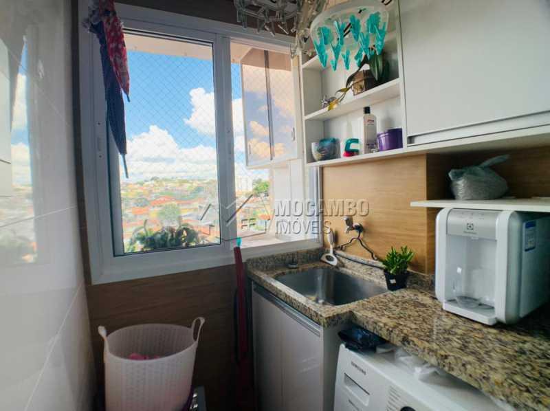 Área de serviço  - Apartamento 2 quartos à venda Itatiba,SP - R$ 275.000 - FCAP21231 - 4